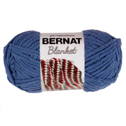 Bernat Blanket Yarn (150g/5.3 oz) Country Blue