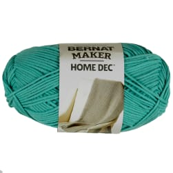 Bernat Maker Home Dec Yarn, Aqua