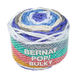 Bernat Pop! Bulky Yarn Stormy Waves