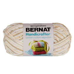 Bernat Handicrafter Cotton Ombres Yarn (340G/12 OZ) Queen Anne's Lace