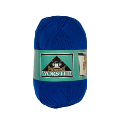 Phentex Worsted Yarn, Royal Blue