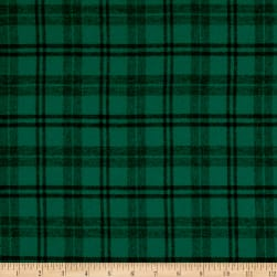 Plaid Flannel PLD-14-2 Jade/Black