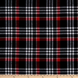 Plaid Flannel PLD-218 Red/Black/White