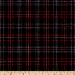 Plaid Flannel PLD-30 Black/Red