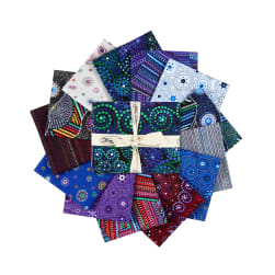 Origins Assorted Fat Quarters 13pcs Multi