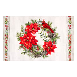 Northcott Scarlet Feather Placemat 22