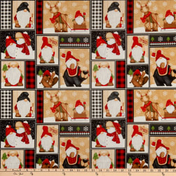 Henry Glass Timber Gnomies Gnomes Patchwork Multi