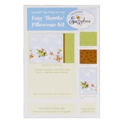 Susybee Zig, Flying Ace Dog Pillowcase Kit Blue/Brown