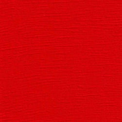 Crinkled Gauze Red Fabric