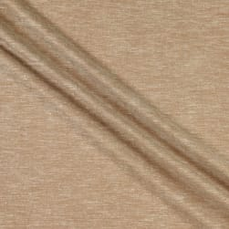 Fabtrends Boardwalk Rayon Linen  Solid Cappuccino Fabric