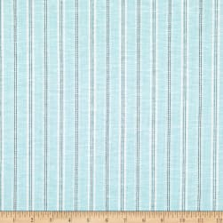 Stripe Linen Mint Fabric