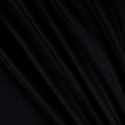 Stretch Linen Black Fabric