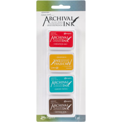 Wendy Vecchi Mini Archival Ink Pads-Set #1