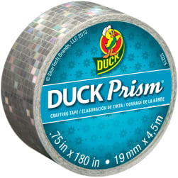 Prism Mini Duck Tape .75''X15'-Squares