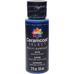 Ceramcoat Select Multi-Surface Paint 2oz-Navy Blue Fabric