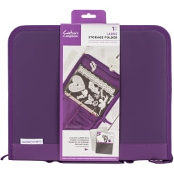 Crafter's Companion Stamp & Die Storage Folder-Large