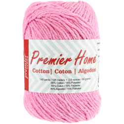 Premier Yarns Home Cotton Yarn - Solid-Pastel Pink