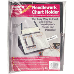 PROPIT Magnetic Needlework Chart Holder W/Magnifier