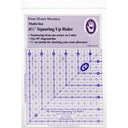 """Marti Michell My Favorite Squaring Up Ruler-6-1/2""""X6-1/2"""""""