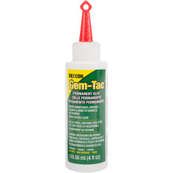 Gem-Tac Permanent Adhesive-4oz
