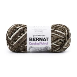 Bernat Crushed Velvet Yarn Taupe