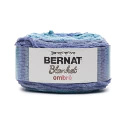 Bernat Blanket Ombré Yarn Shaded Blue Ombre