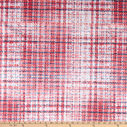 E.Z. Minky Tweed Print Red, White, Red