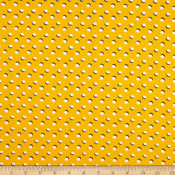 Fabtrends DTY Moon Dot Yellow White