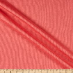 Fabric Merchants 2x1 Cotton Rib Knit Coral