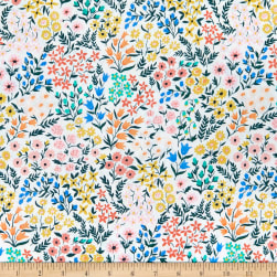 Cloud9 Organic Wildflower Cotton Meadow Multi Fabric