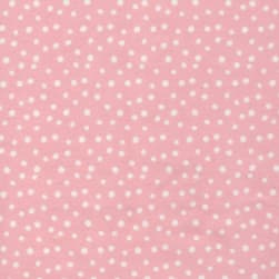 Cloud9 Organic Flannel Northerly Confetti Pink