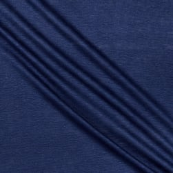 European Linen Rivioli Stretch Jersey Knit New Indigo Fabric