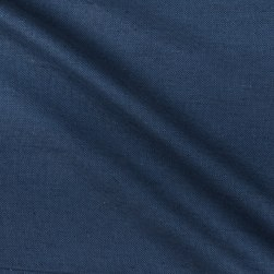 European Linen Livingston Indigo Fabric
