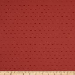 Telio Dotted Swiss Cotton Marsala