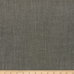 Solid Wool Suiting Black/White