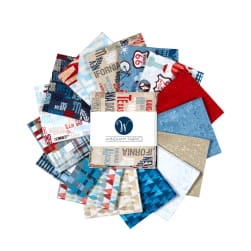 Whistler Studios Across The USA Fat Quarter Bundle