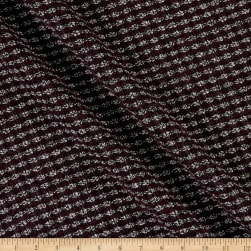 Telio Chenille Poly Tweed Plum