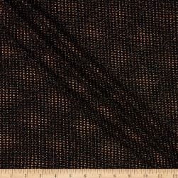 Telio Aeriel Nylon Metallic Foil Knit Print Copper