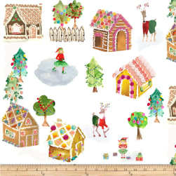 Michael Miller Sweet Holiday Gingerbread Dream Multi
