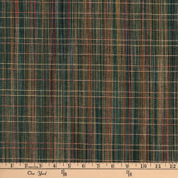 Highland Dobby Fine Line in Weft Green