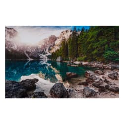 Northcott The View From Here 2 Mt.Vista 28'' Panel Prussian Blue Multi Fabric