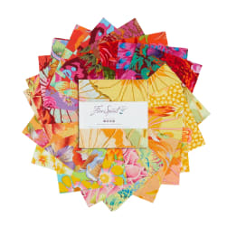 EXCLUSIVE Kaffe Fassett Collective 5'' Charm Pack 42 pcs Sun Up