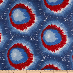 Premier Prints Mod Tie-Dyed Cotton Duck Freedom