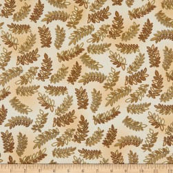 Kanvas Radiance Radiant Ferns Metallic Beige