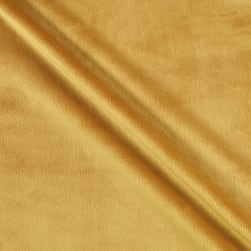 Shannon Minky Solid Cuddle 3 Extra Wide Golden Fabric