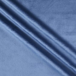 Shannon Minky Solid Cuddle 3 Extra Wide Jeans Fabric