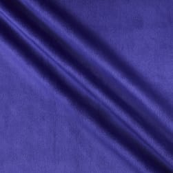 Shannon Minky Solid Cuddle 3 Extra Wide Viola Fabric