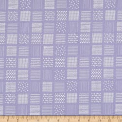 Kaufman Simple Life Pattern In The Square Lavender