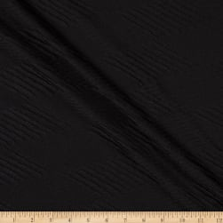 Jacquard Stretch Knit Black