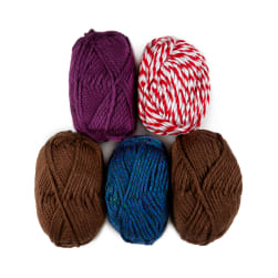 Lion Brand Hometown Yarn Assorted Colors 1 Skein